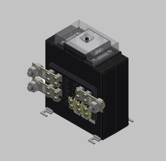 KSW 300 Innenraum Wickel-Stromwandler, Niederspannung Labor- /Vielfach-Stromwandler