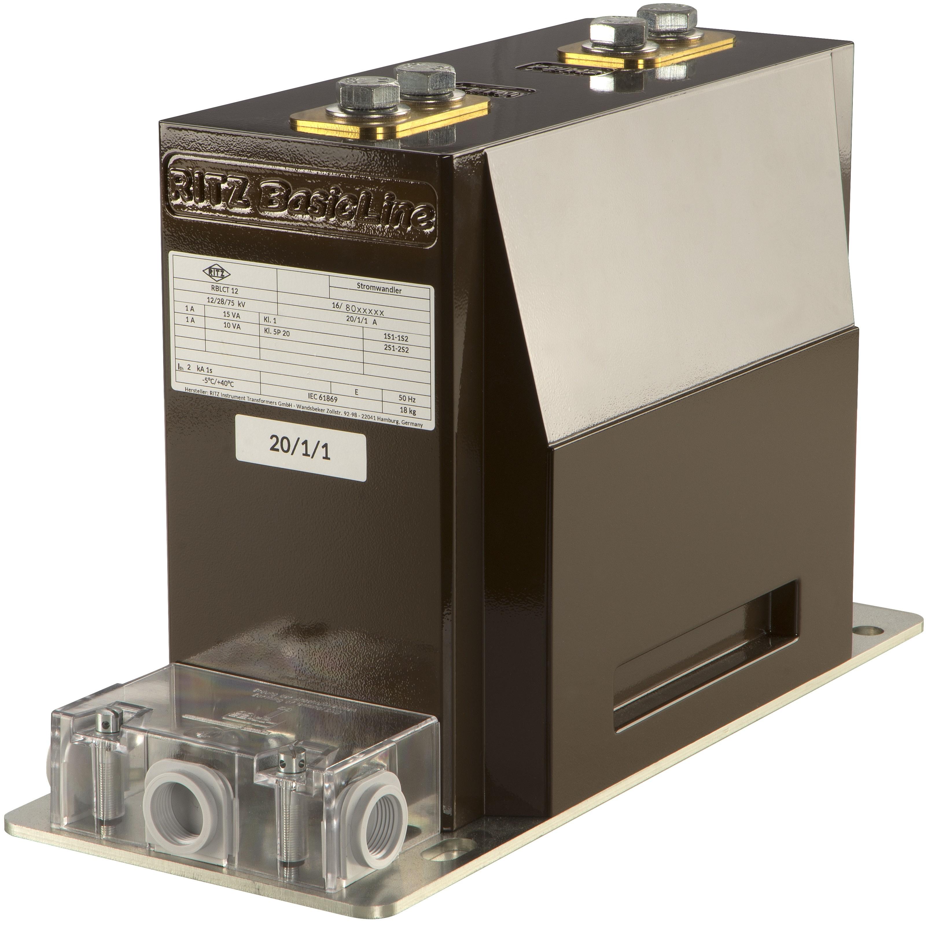 RBLCT12 | 17,5 | 24  BasicLine Innenraum Stromwandler Stützerstromwandler, Blockwandler, schmale Bauform