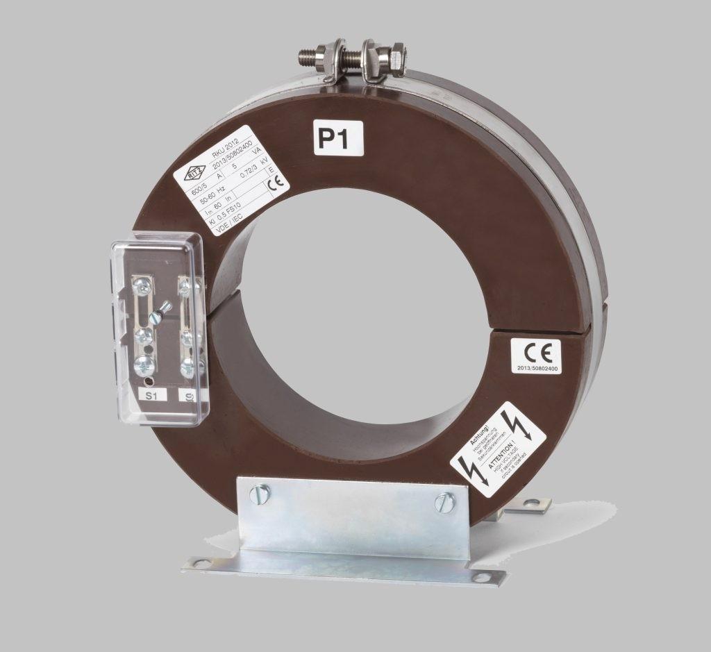 RKU 2012  Innenraum Stromwandler Kabelumbau-Stromwandler zweiteilig