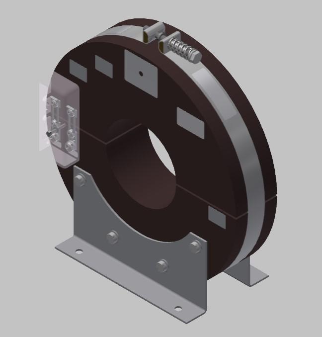 RKU 2308 Innenraum Stromwandler Kabelumbau-Stromwandler zweiteilig
