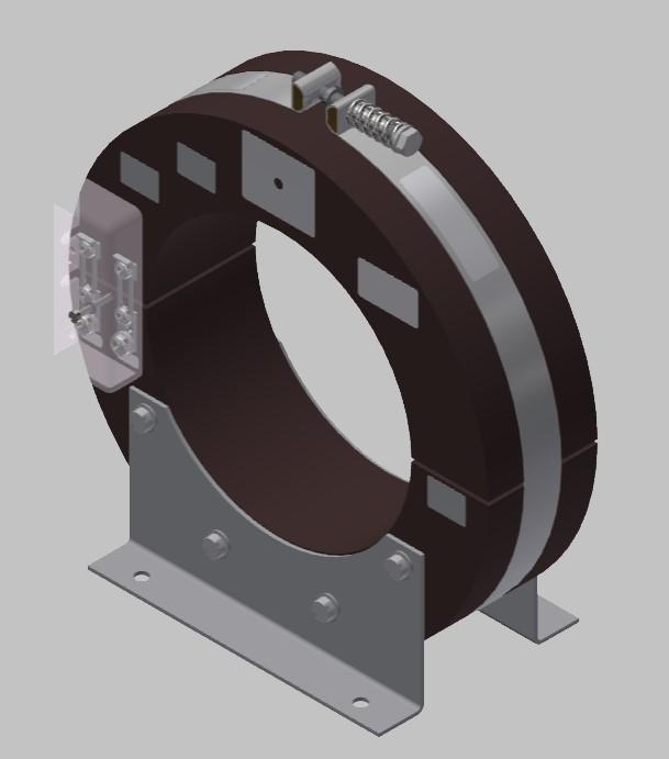 RKU 2314  Innenraum Stromwandler Kabelumbau-Stromwandler zweiteilig