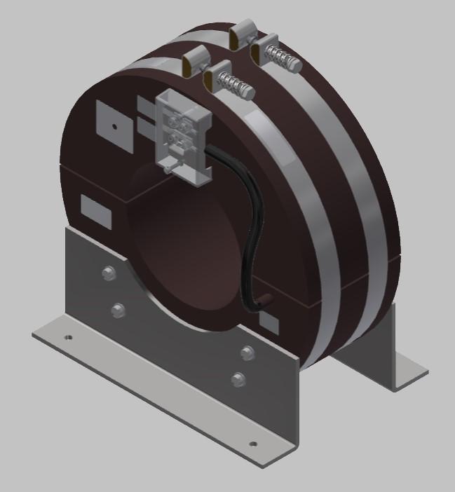 RKU 2712 Innenraum Stromwandler Kabelumbau-Stromwandler zweiteilig