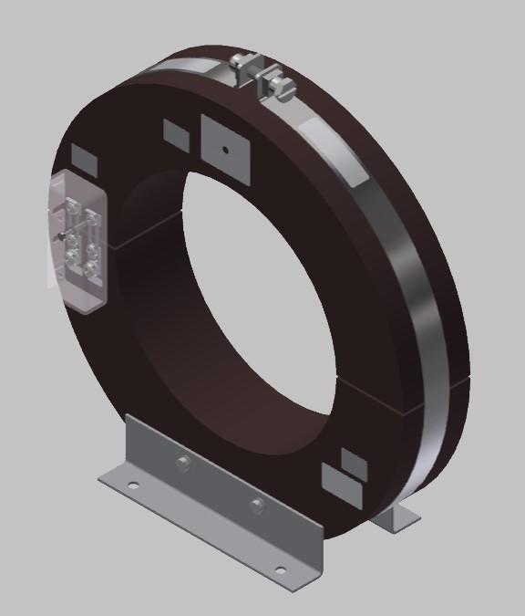 RKU 2918  Innenraum Stromwandler Kabelumbau-Stromwandler zweiteilig