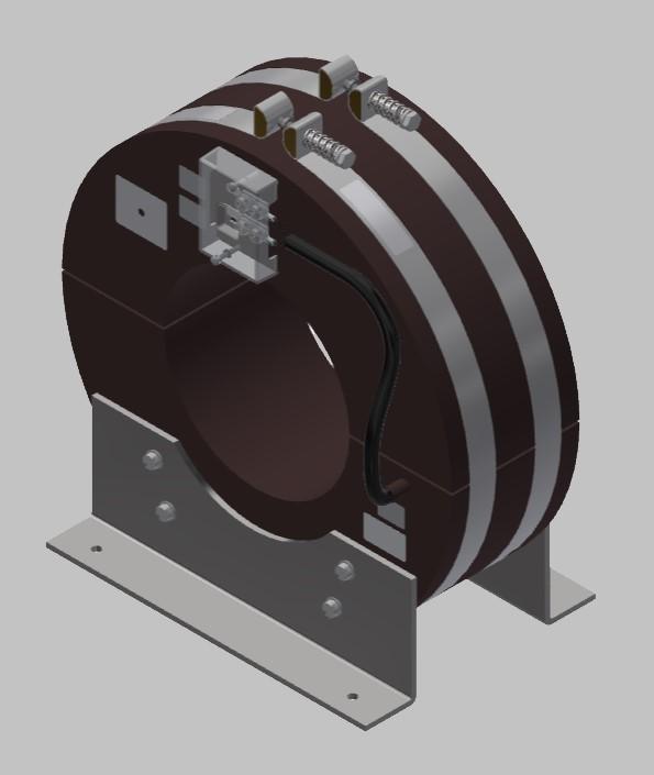 RKU 3014 Innenraum Stromwandler Kabelumbau-Stromwandler zweiteilig