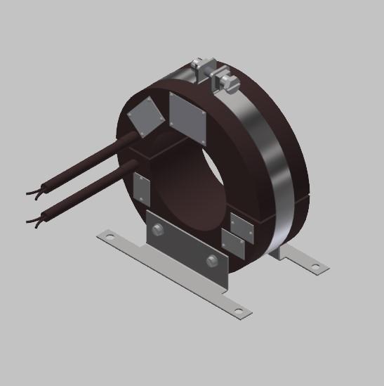 RKUF 1608 Freiluft Stromwandler Kabelumbau-Stromwandler zweiteilig