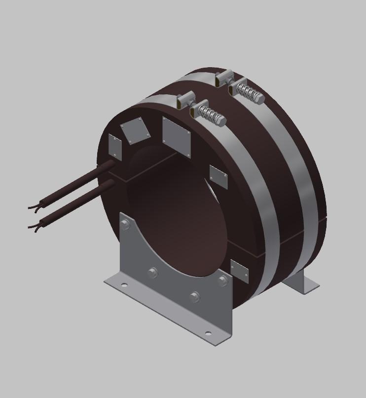 RKUF 2314 Freiluft Stromwandler Kabelumbau-Stromwandler zweiteilig