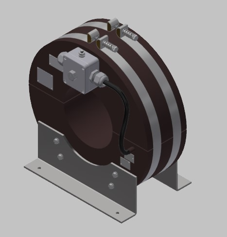 RKUF 3012 Freiluft Stromwandler Kabelumbau-Stromwandler zweiteilig