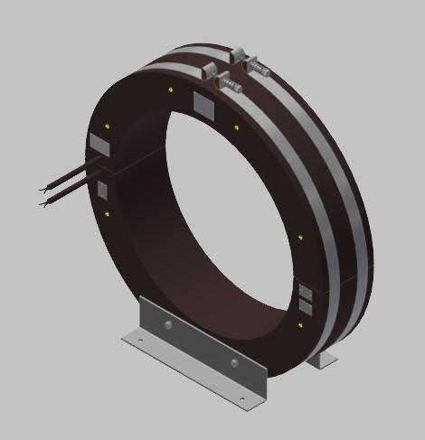 RKUF 4735 Freiluft Stromwandler Kabelumbau-Stromwandler zweiteilig