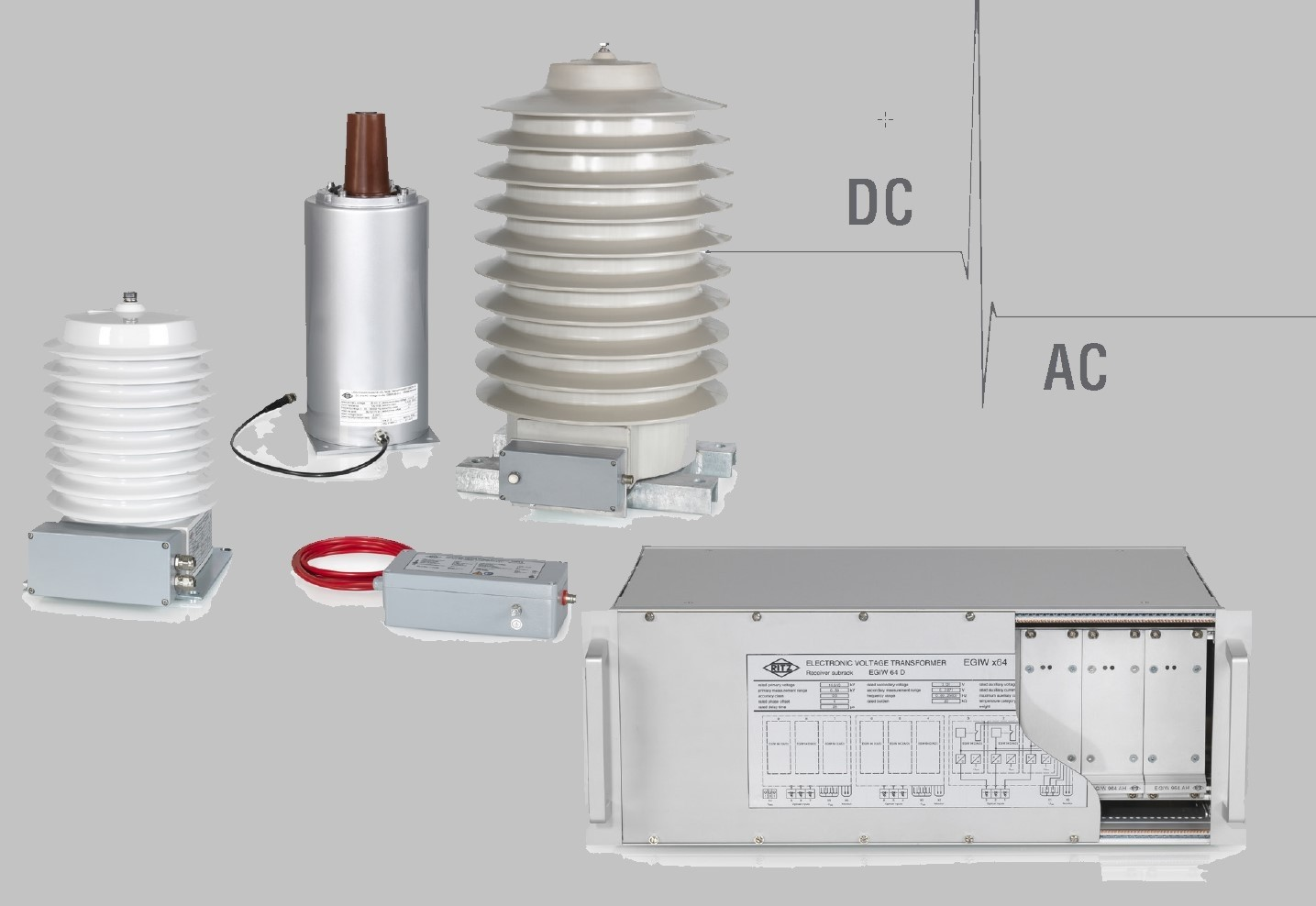 EGIW x64 Electronic Voltage Transformer